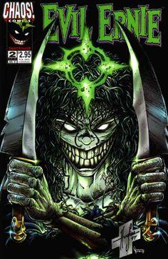 steven hughes evil ernie   Evil Ernie: Destroyer » 9 issues