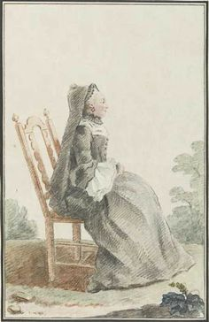 """The Widow Reysfeltz, de Wesel"" by Louis Caroggis Carmontelle (1759)"