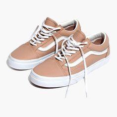 da6de80869 Madewell x Vans® Unisex Old Skool Lace-Up Sneakers in Camel Colorblock