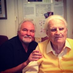 Miss em both already, Dan Southern and #BillyGraham (1918-2018). Friends, brothers in our forever-family, two prayin' soul-winners who worked together for over 20 years and went home within a few months of each other. On-fire for Christ all the way!  Rejoicing in his new location. Home. Hey, they're stoked to be home with their Lord today, absolutely!.. still a big loss for this nation. facebookDOTcom/shareJesus KurtwVs #inInsta