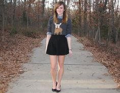 Frenchie. (by Niki Adams) http://lookbook.nu/look/4330991-Frenchie