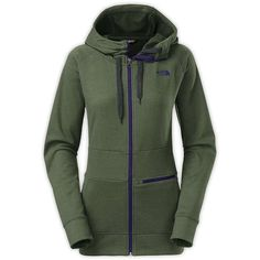 The North Face Women's Shelly Hoodie ($120) ❤ liked on Polyvore featuring tops, hoodies, oscar green, green hoodies, green top, hooded pullover, sweatshirts hoodies and green hoodie