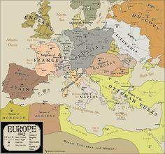 Mapas de Europa a traves de los siglos Ads History and Genealogy