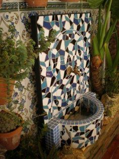 Mosaicos na praia on pinterest mosaics pizza ovens and for Mosaico marroqui