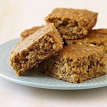 weight watchers blondies.  i made these, and they were tasty.