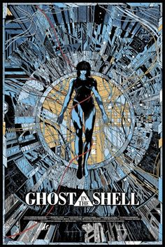 Exclusive Ghost In The Shell Mondo Poster Reveal!