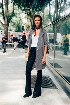 DIANA MOLDOVAN - SS17 MFW - Model's look: lo stile delle modelle alle sfilate di Milano - Vogue.it