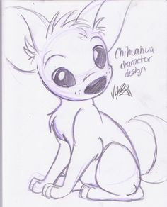 Chihuahua Character Design by knuFaD-zzaJ