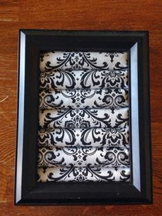 What you will need: Picture frame , close to 1inch thick. This frame fits a 5x7inch photo. Fabric of your choosing , some fabrics are too bu...