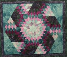 Spinning Diamonds Quilt - Free Pattern | Quilting Patterns and Tutorials | Bloglovin'