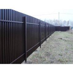 Забор из профнастила (standart)