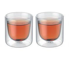 Szklanki GlassMotion marki Alfi o pojemności 190 ml zostały zaprojektowane z myślą o piciu herbaty lub kawy. Podwójne ścianki sprawiają, że napój nie wystygnie zbyt szybko. herbata