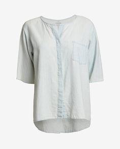 Frame Short-Sleeve Button-Down Shirt | Shop IntermixOnline.com