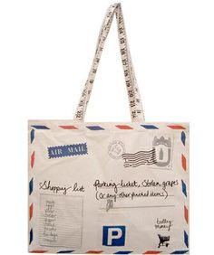 Purse shaped like mail!