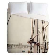 Catherine McDonald Sail Dana Point Duvet Cover | DENY Designs Home Accessories