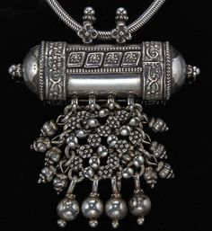 A tribal pendant from Himachal Pradesh, North India