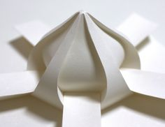 Origami, by Jun Mitani, Universidade de Tsukuba  Origami high-tech | High-tech girl