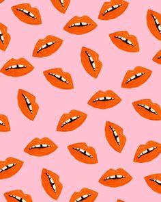 #lips #pattern