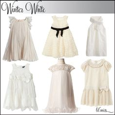 white christmas dresses