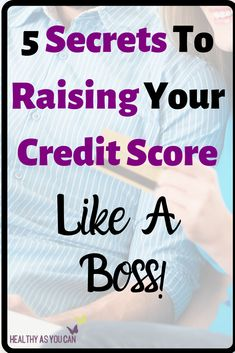 Do you need to raise your credit score but don't know where to start to do that? This post breaks down the 5 things you need to know in order to improve your credit score to a higher number. Money Saving Challenge, Saving Money, Life Organization, Organizing, Lexington Law, Credit Reporting Agencies, How To Fix Credit, Money Makeover, Budget Spreadsheet