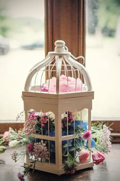 Floral #wedding #venue ideas http://www.weddingandweddingflowers.co.uk/article/816/real-wedding-flower-ideas