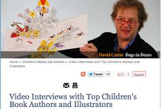 The Centered School Library: Author & Illustrator Interview Videos from Reading Rockets