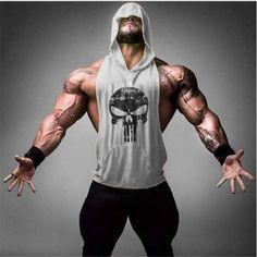 Men's Skull Print Stringer Bodybuilding Gym Tank Top - Skullflow    https://www.skullflow.com/collections/mens-skull-clothing/products/men-s-skull-print-stringer-bodybuilding-gym-tank-top