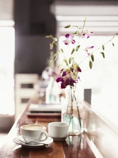 spicyrunnergirl:    ellure:    a cup of coffee never looked so zen.            Good morning and happy Monday.  I hope you have a good day.