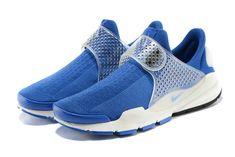 Girl WMNS Nike Sock Dart Fragment Design X Hero Blue Photo Blue White White Nike  Socks af111034fab6