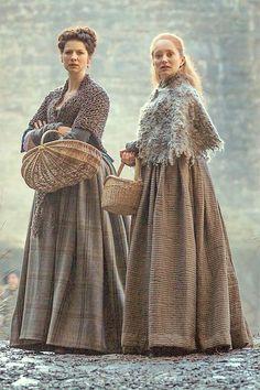 Claire and Geillis