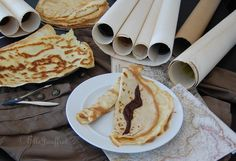 """Paper thin crepes with chocolate """"Fold"""". Alina Starkov, The Gathering, Crepes, Maps, Dishes, Chocolate, Ethnic Recipes, Sweet, Food"""