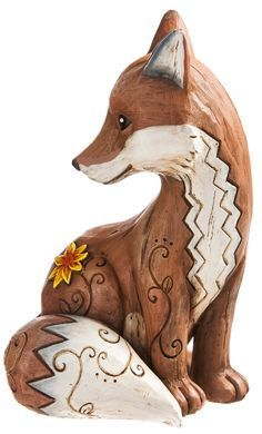 Wishgivers Fox Statue