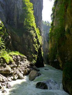 River Canyon, Meiringen, Switzerland