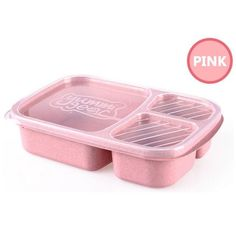 Wheat Straw Bento Lunch Boxes