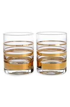kate spade new york 'hampton street' double old-fashioned glasses (set of 2) available at #Nordstrom