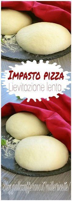 Pane e pizza con pm e non Calzone, Focaccia Pizza, Charcuterie, My Favorite Food, Favorite Recipes, Tuscan Bean Soup, Four A Pizza, Pizza Dough, Recipe Collection