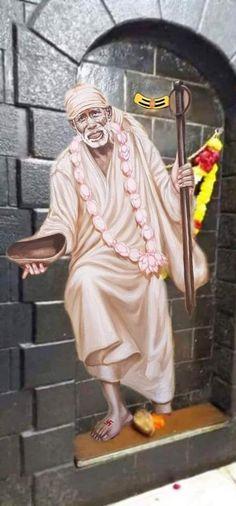 Sai Baba Pictures, Sai Baba Photos, God Pictures, Sai Baba Miracles, Shirdi Sai Baba Wallpapers, Sai Baba Hd Wallpaper, Lord Ganesha Paintings, Baba Image, Om Sai Ram