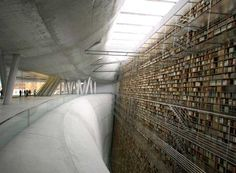 Stockholm Library - So many books! I don't even want to read them, just absorb their presence and smell them!
