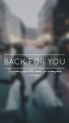 Back For You // One Direction // ctto: @stylinsonphones (on Twitter)