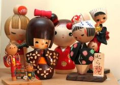 Kokeshi Wooden Dolls from Japan-14