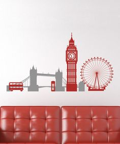 Another great find on #zulily! London Highlights Decal by Wallquotes.com by Belvedere Designs #zulilyfinds