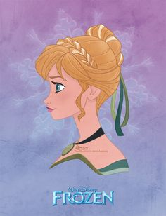 """My new addition to the Allure Series, """"Elsa"""". Since I haven't watched the movie yet, it's hard for me to really capture her personality in my drawing. I just base this drawing off of an Elsa doll t..."""