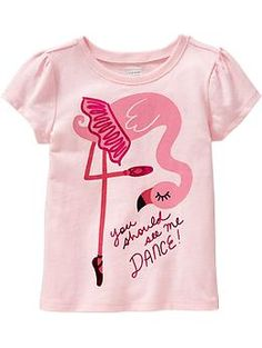 Graphic Short-Sleeve Tees for Baby