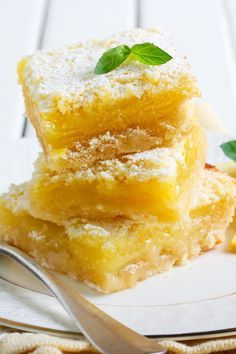 Weight Watchers 5 Smart Points Lemon Bars Recipe