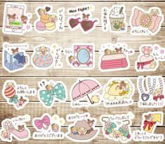20 PCS Kawaii Princess Accessories Die cut stickers,Cute Sticker, Decorative Stickers,Planner Stickers,Japanese Stickers,Kawaii Stickers by GinkoSupplies on Etsy