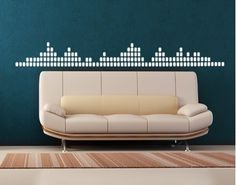 equalizer wall decal
