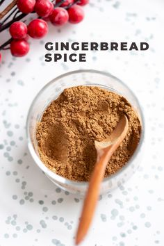 How to make Gingerbread Spice Mix. Easy gingerbread spice with everyday ingredients. Use in gingerbread cake, biscotti, gingerbread cookies, latte. Great for gifting. Homemade Spice Blends, Homemade Spices, Homemade Seasonings, Spice Mixes, Gingerbread Spice Recipe, How To Make Gingerbread, Gingerbread Cake, Gingerbread Houses, Sweet Spice