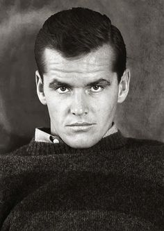 A young Jack Nicholson looking intense. 1960s
