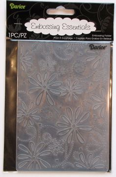 Darice Large Petal A2 Embossing Folder by catSCRAPPIN on Etsy, $4.50