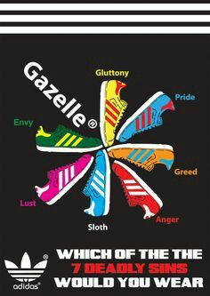 I WANT ONE!! - BRILLIANT GAZELLE POSTER BY ADIDAS - IF ANYONE HAS ONE OR HAS SEEN ONE FOR SALE PLEASE LET ME KNOW :-)